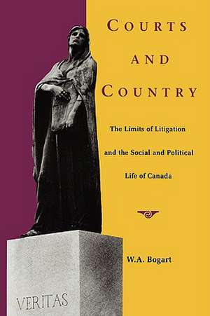 Courts and Country de W. A. Bogart