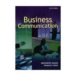 Business Communication de Meenakshi Raman