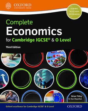 Complete Economics for Cambridge IGCSE® and O Level de Dan Moynihan