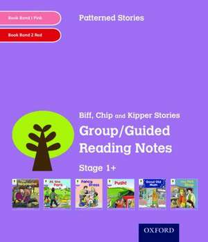Oxford Reading Tree: Level 1+: Patterned Stories: Group/Guided Reading Notes de Roderick Hunt