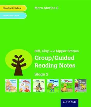 Oxford Reading Tree: Level 2: More Stories B: Group/Guided Reading Notes de Roderick Hunt