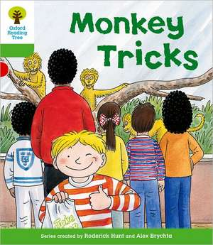 Oxford Reading Tree: Level 2: Patterned Stories: Monkey Tricks