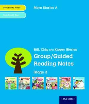 Oxford Reading Tree: Level 3: More Stories A: Group/Guided Reading Notes de Roderick Hunt