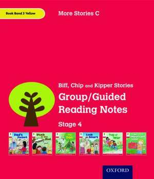 Oxford Reading Tree: Level 4: More Stories C: Group/Guided Reading Notes de Roderick Hunt
