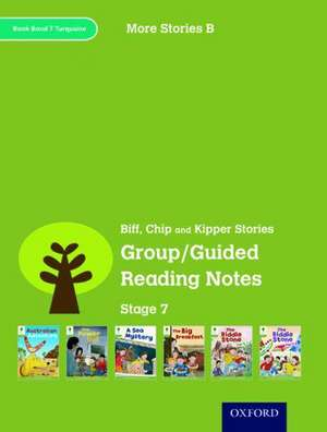 Oxford Reading Tree: Level 7: More Stories B: Group/Guided Reading Notes de Roderick Hunt