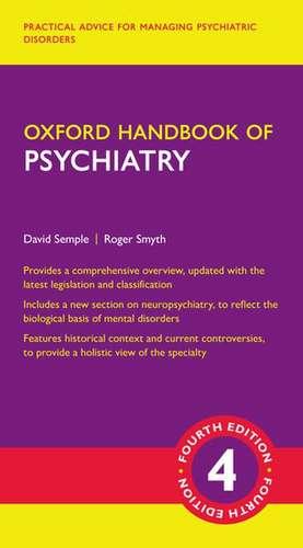 Oxford Handbook of Psychiatry de David Semple