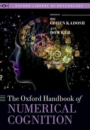 Oxford Handbook of Numerical Cognition de Roi Kadosh