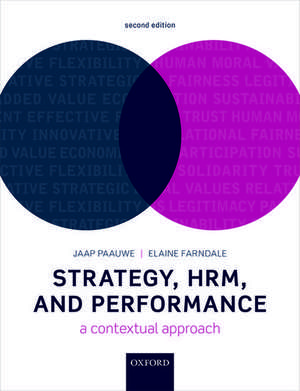 Strategy, HRM, and Performance: A Contextual Approach de Jaap Paauwe