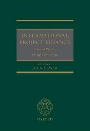International Project Finance de John Dewar