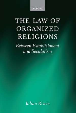 The Law of Organized Religious