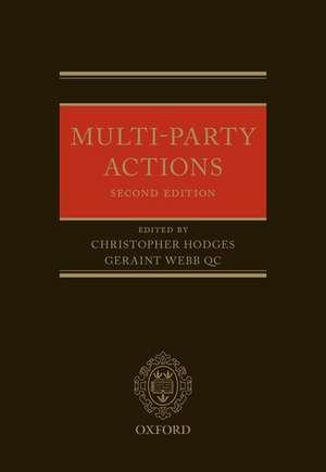 Multi-Party Actions de Christopher Hodges