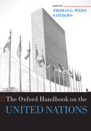The Oxford Handbook on the United Nations de Thomas G. Weiss