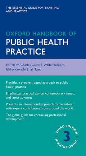 Oxford Handbook of Public Health Practice de Charles Guest