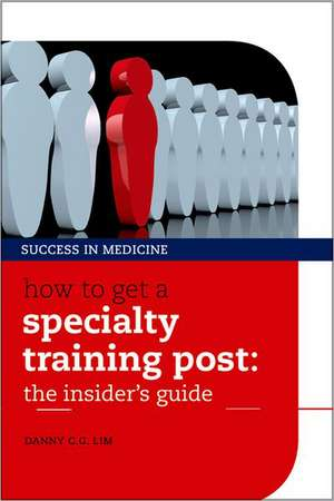 How to get a Specialty Training post