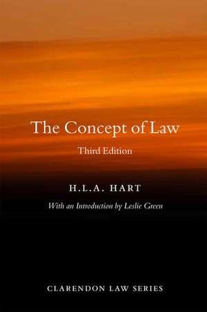 The Concept of Law de HLA Hart