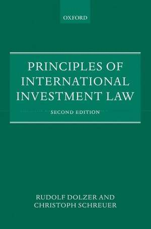 Principles of International Investment Law (Oxford) imagine