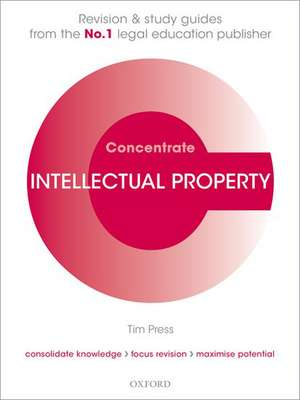 Intellectual Property Law Concentrate imagine