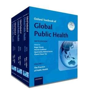 Oxford Textbook of Global Public Health de Roger Detels