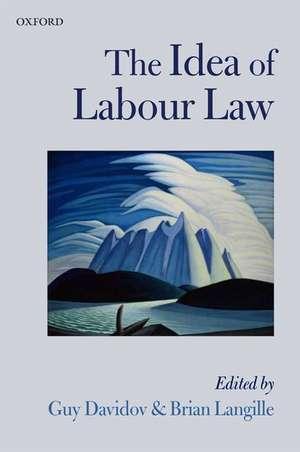 The Idea of Labour Law de Guy Davidov
