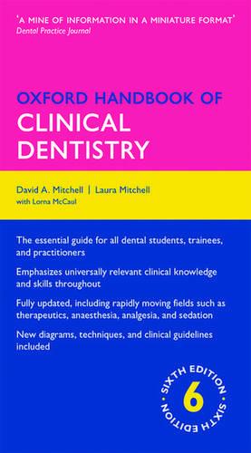 Oxford Handbook of Clinical Dentistry de David A. Mitchell