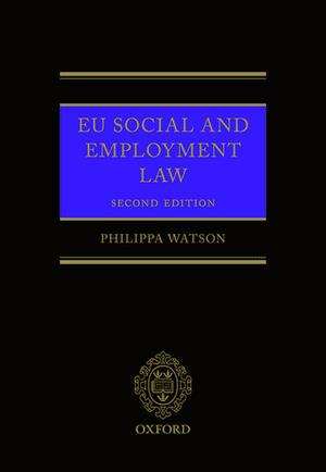EU Social and Employment Law 2E imagine
