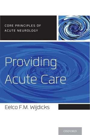 Providing Acute Care