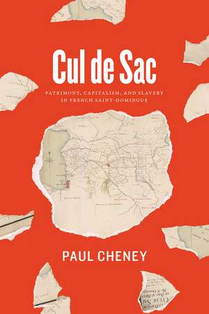 Cul de Sac: Patrimony, Capitalism, and Slavery in French Saint-Domingue de Paul Cheney