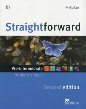 Straightforward - Student Book - Pre-intermediate B1 with Practice Online Access