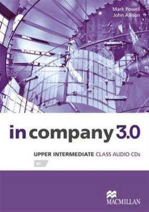 In Company 3.0 Upper Intermediate Level Class Audio CD de Mark Powell