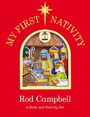 My First Nativity Set de Rod Campbell