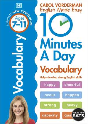 10 Minutes A Day Vocabulary, Ages 7-11 (Key Stage 2) imagine