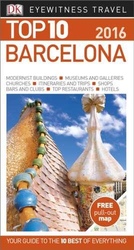 DK Eyewitness Top 10 Travel Guide Barcelona