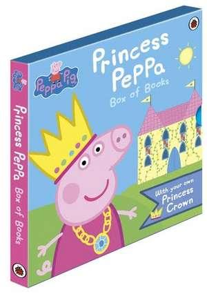 Princess Peppa Pig: 2 Book Slipcase with Crown