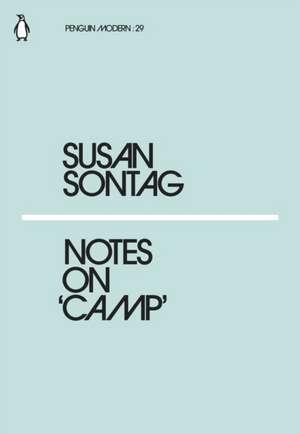 Notes on Camp de Susan Sontag