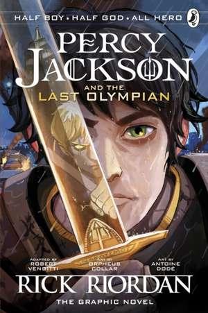 The Last Olympian: The Graphic Novel (Percy Jackson Book 5) de Rick Riordan