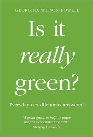 Is It Really Green? imagine