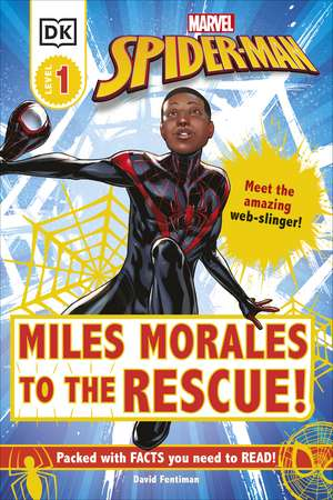 Marvel Spider-Man Miles Morales to the Rescue! imagine