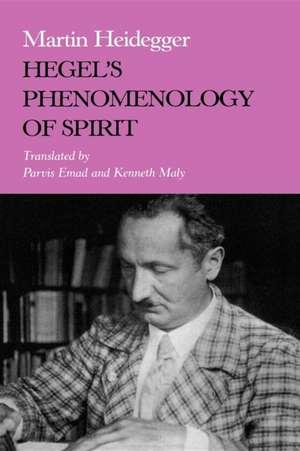 Hegel S Phenomenology of Spirit de Martin Heidegger