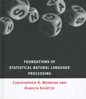 Foundations of Statistical Natural Language Processing imagine