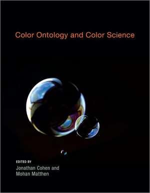 Color Ontology and Color Science de Jonathan Cohen