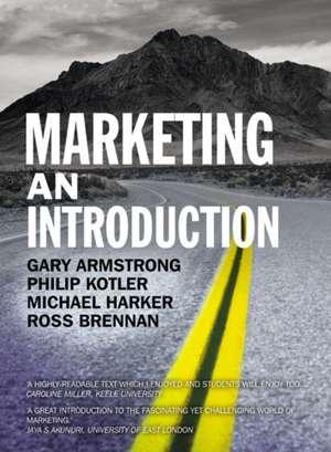 Marketing An Introduction de Gary Armstrong