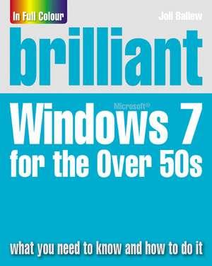 Brilliant Windows 7 For The Over 50s