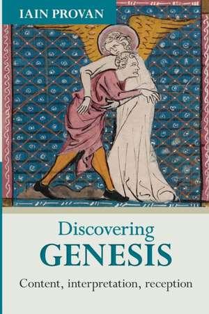 Discovering Genesis de Iain Provan