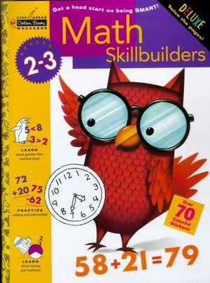 Math Skillbuilders (Grades 2 - 3) de Golden Books