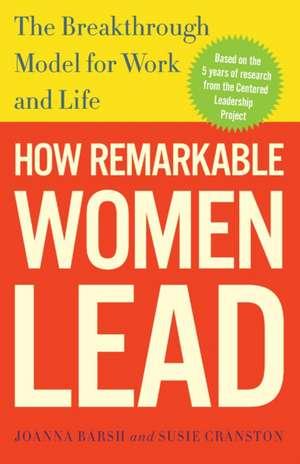 How Remarkable Lead de Joanna Barsh