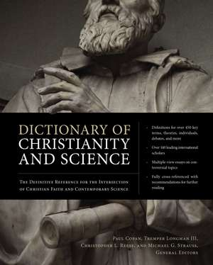 Dictionary of Christianity and Science
