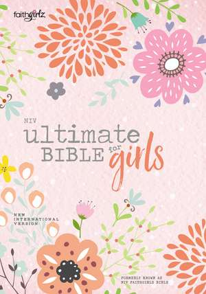 NIV, Ultimate Bible for Girls, Faithgirlz Edition, Hardcover imagine