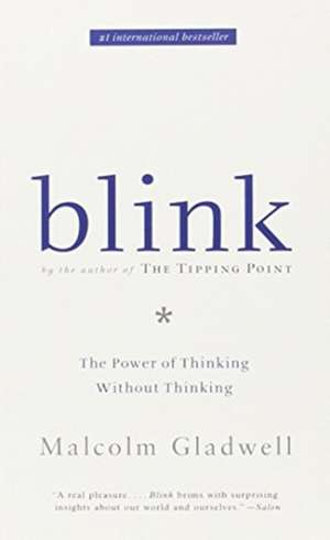 blink the power of thinking without thinking book pdf