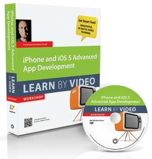 iPhone and IOS 5 Advanced App Development: Learn by Video de  Video2brain