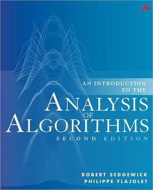 An Introduction to the Analysis of Algorithms imagine